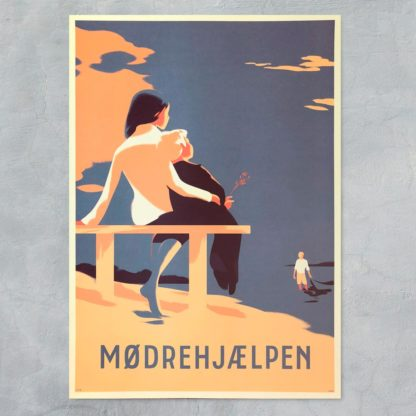 Mødrehjælpen plakat